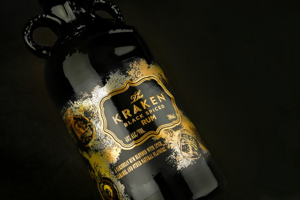 The Kraken label shot